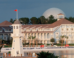 Disney's Yacht & Beach Club Resort